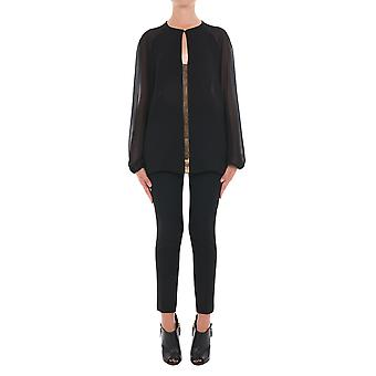 Versace collection women's G34534G602034G2011 black polyester blouse