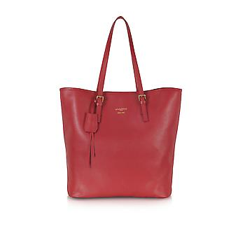 Le Parmentier ladies 8507Red red leather tote