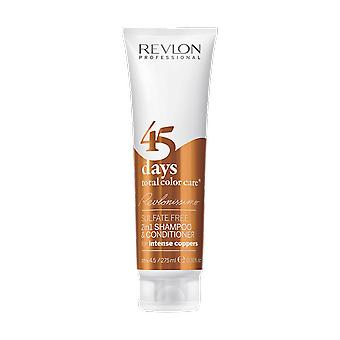 Revlon Revlonissimo 45 Days Shampoo Conditioner Intense Coppers 275ml