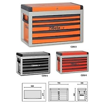 C23 S-R Beta Portable Tool Chest With Five Drawers
