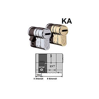 Avocet Avocet ABS High Security Half Euro Cylinder - Anti Snap Lock - TS007 3 Star (Keyed Alike)
