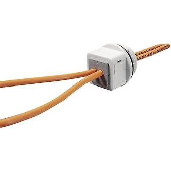 Cable grommet compartimentable Grey