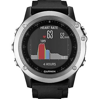 GPS sports watch Garmin Fenix 3 HR Bluetooth Silver, Black