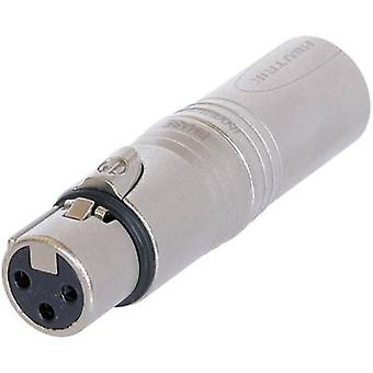 Enchufe XLR Adaptador XLR - XLR plug NeutrikNA3F5M1 PC