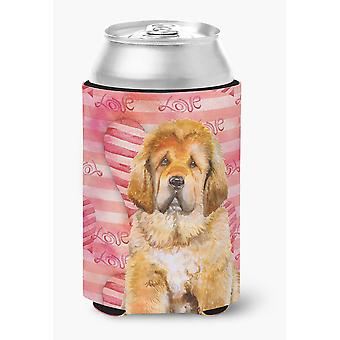 Carolines Treasures  BB9808CC Tibetan Mastiff Love Can or Bottle Hugger