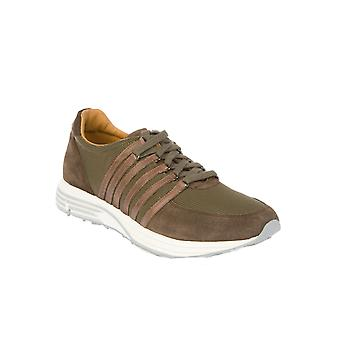 Pantofola D'oro suede of sneakers men's LC02WYC166CMILITARE Grün