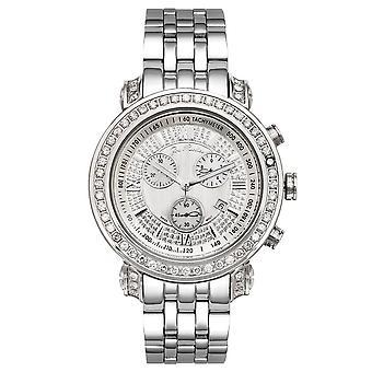 Joe Rodeo diamond men's watch - TYLER Silver 3.5 ctw