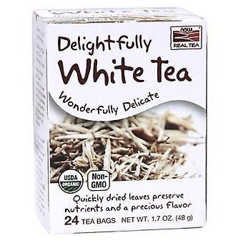 Now Foods Delightfully White Tea Organic 24 Tea Bags (Herbalist's , Infusions)