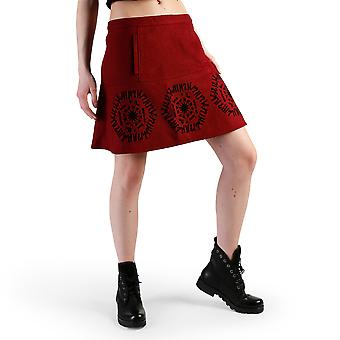 Desigual Women Skirts Red