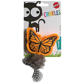 Agrobiothers Crinkle Butterfly Cat Toy (Katten , Speelgoed , Staven)