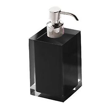 Regenboog zeep Dispenser zwart