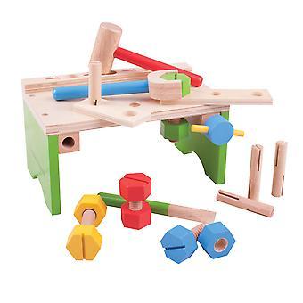 Bigjigs legetøj Carpenters bænk