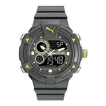 PUMA reloj pulsera reloj hombre reloj analógico digital del silicón PU911391002 chocan