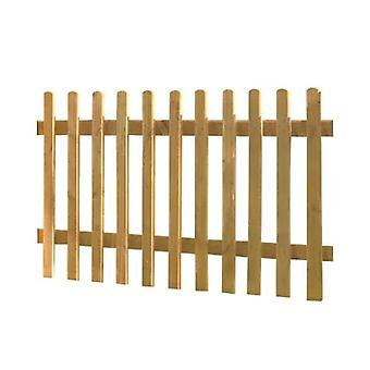 Forest Garden 3ft Wooden Picket Fence Panel