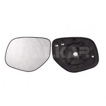 Left Mirror Glass (heated) & Holder for MITSUBISHI OUTLANDER mk2 Van 2010-2012