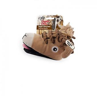 AFP Zapatilla Oveja Doggy'S Shoes (Dogs , Toys & Sport , Stuffed Toys)