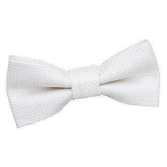Ivoire grec clés pré-liés noeud de cravate pour les garçons