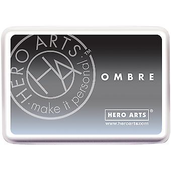 Hero Arts Ombre Ink Pad-Gray To Black