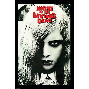 Night Of The Living Dead Girl Face Poster Poster Print