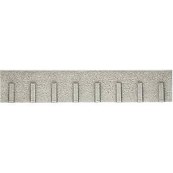 H0 Retaining wall HR foam prefab NOCH 58066