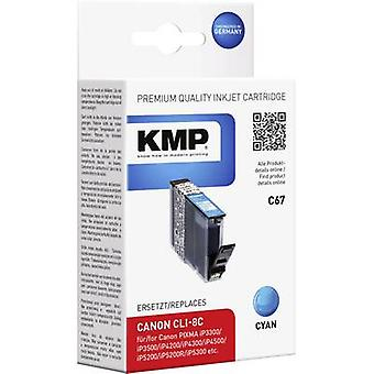 KMP Ink replaced Canon CLI-8 Compatible Cyan