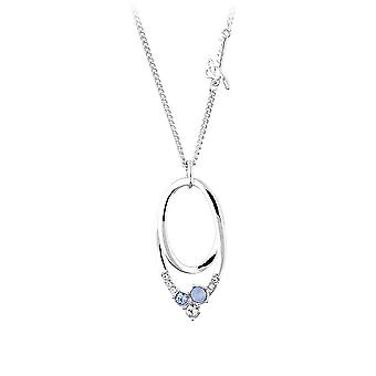 Guess ladies silver necklace