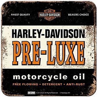 Harley Davidson pre-Luxe (escuro) bebe Mat / Coaster