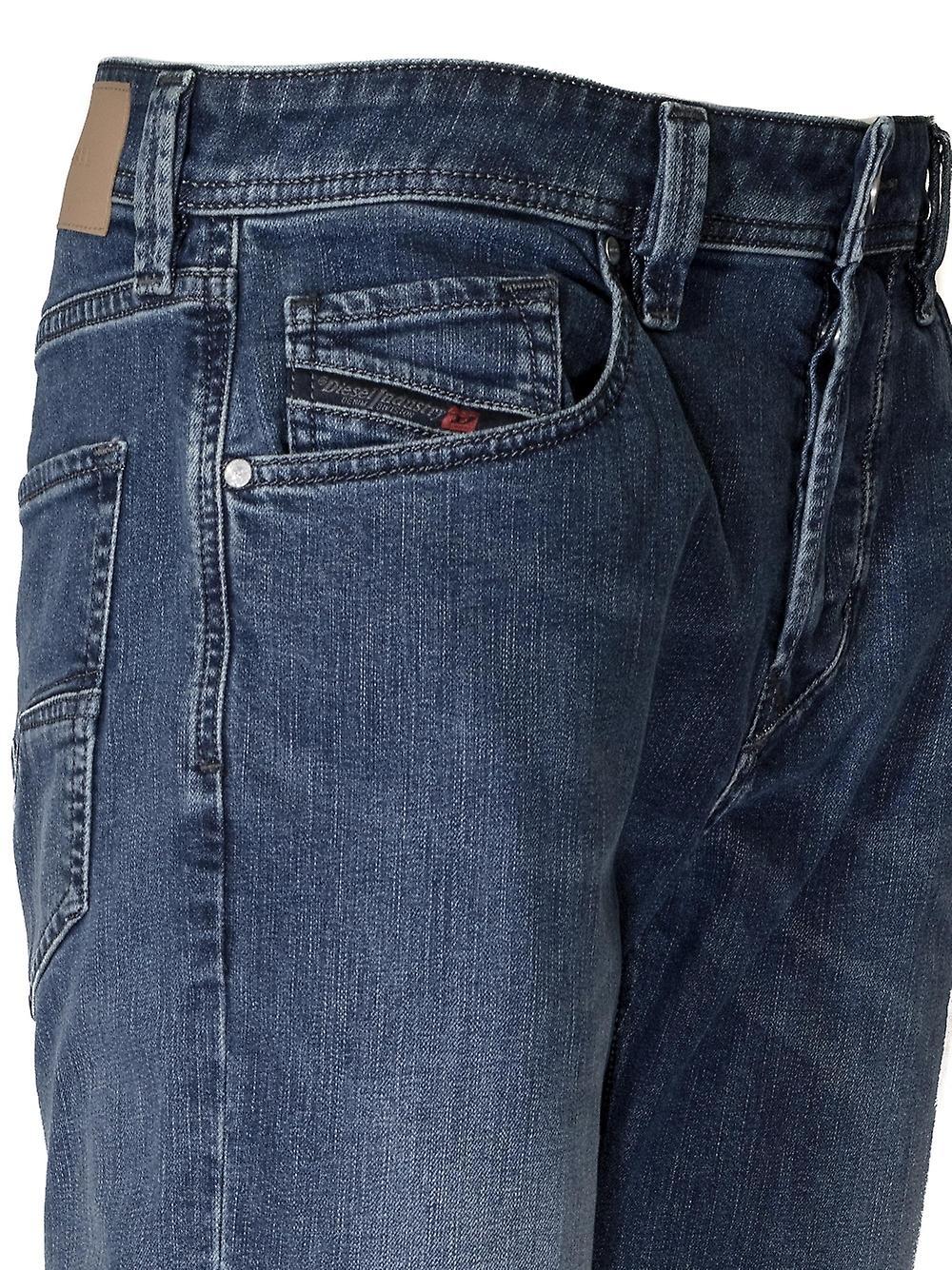 Diesel Diesel Regular Straight Larkee Blue Rinse Jean