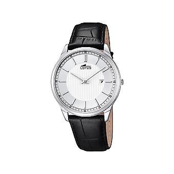 LOTUS - wrist watch - men - 10124-2 - leather strap classic - classic