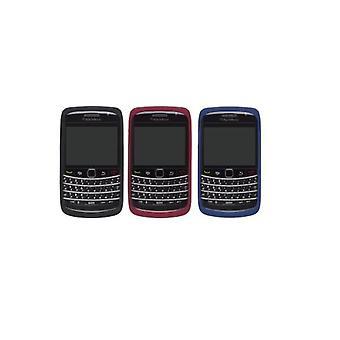 Piel de silicona de BlackBerry OEM 9700 9780 - negro, rojo, azul (Pack 3)