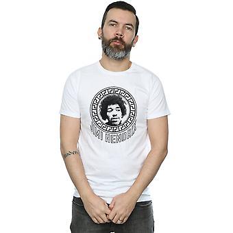Jimi Hendrix Men's Pattern Circle T-Shirt