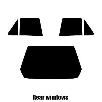 Pre cut window tint - Renault R11 5-door Hatchback - 1983 to 1989 - Rear windows