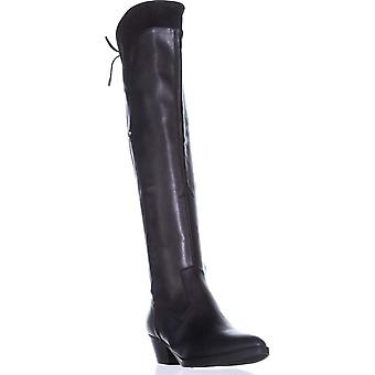 Guess Womens Vianne 2 Almond Toe Over Knee Fashion Boots