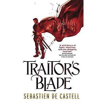 Lâmina do traidor por Sebastien de Castell - livro 9781782066750