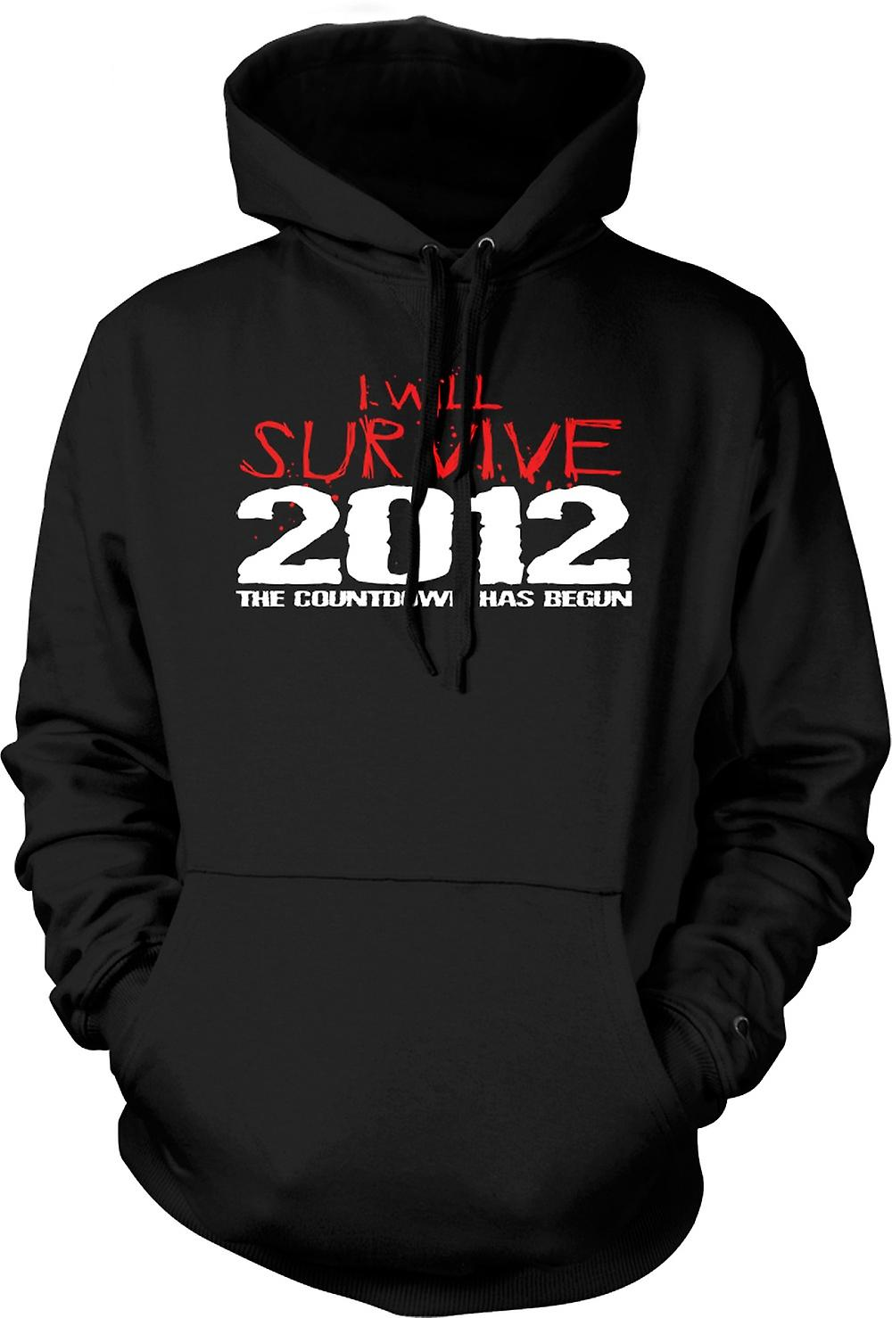 Kids Hoodie - 2012 I Will Survive Apocalypse End Of World