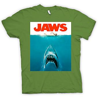 Dame T-shirt-Jaws haj