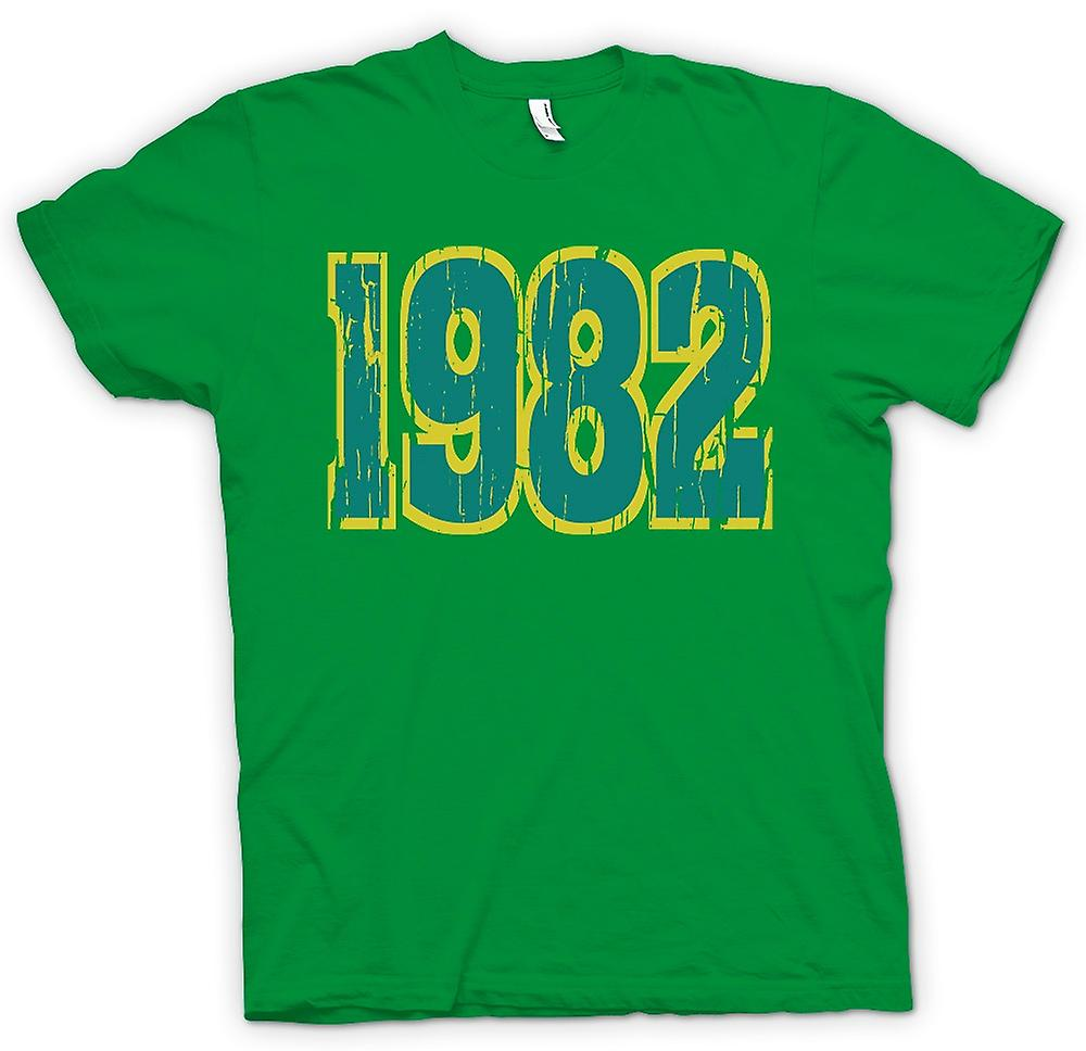 Mens T-shirt - 1982 - Quote