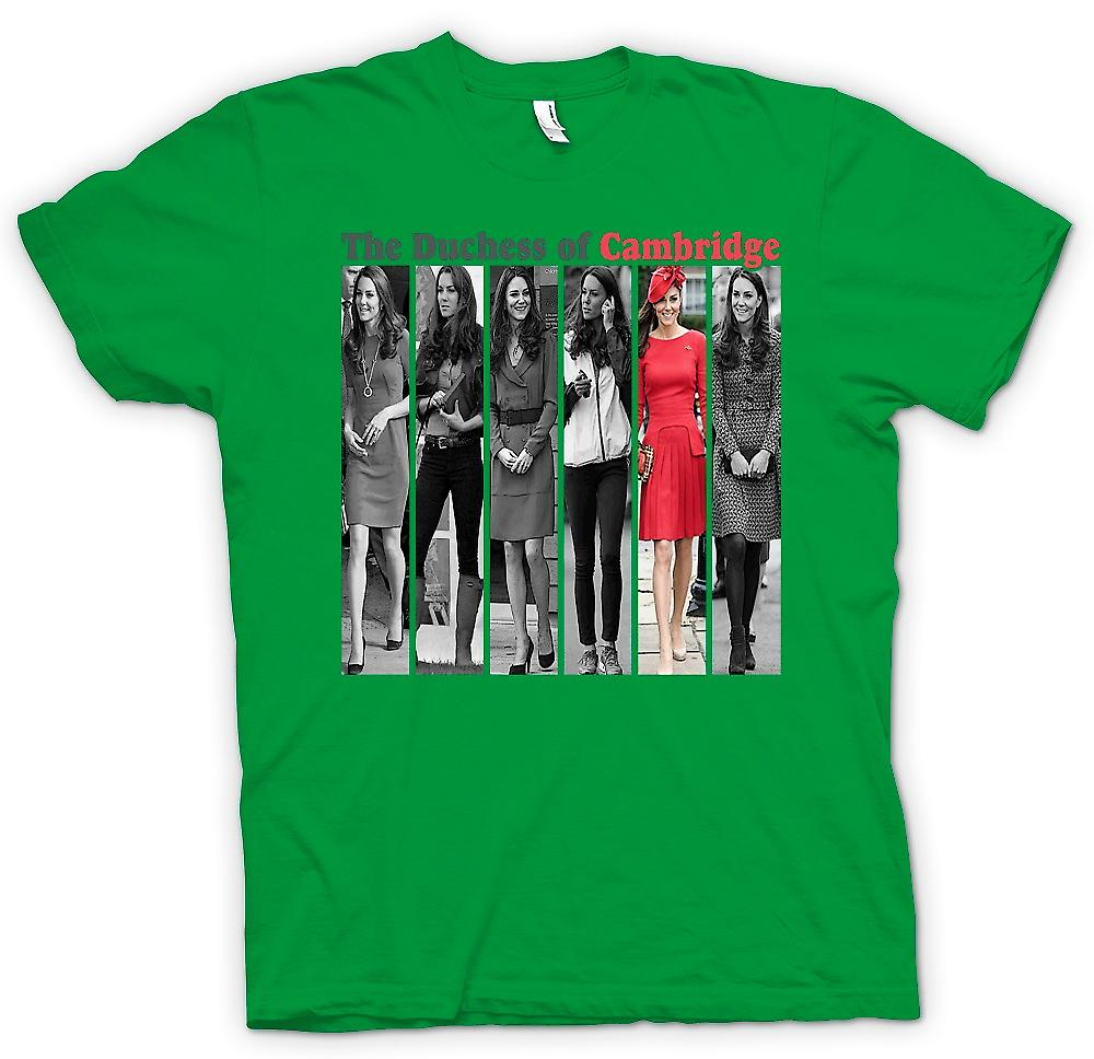 Mens T-shirt - la duchesse de Cambridge - Kate Middleton