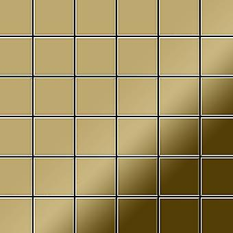 Mosaico de metal sólido Titanio ALLOY Cinquanta-Ti-GM