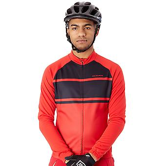 Altura: rosso-nero 2017 Airstream Long Sleeved ciclismo maglia