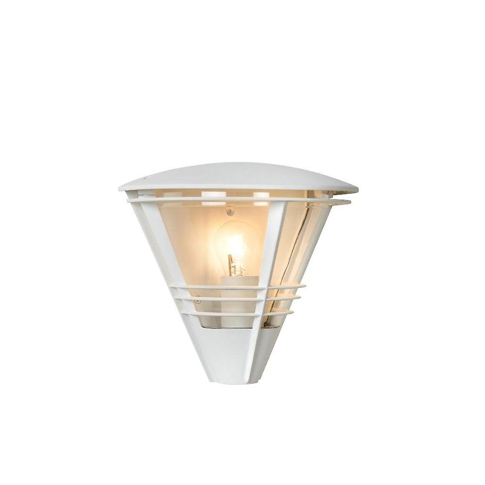 Lucide Livia Modern Half-Round Aluminum blanc Wall lumière