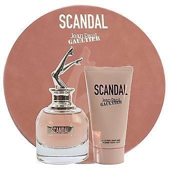 Jean Paul Gaultier Scandal Gift Set EDP 80ml + Body Lotion 75ml
