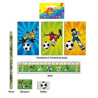 24 Football 5-Piece Stationery Sets