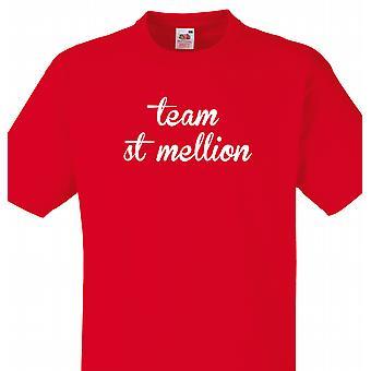 Team St. mellion Red T shirt