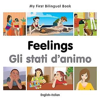 Min första tvåspråkiga bok - känslor - italiensk - engelska