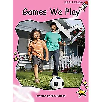 Games We Play: Pre-reading (Red Rocket Readers: Non-fiction Set A)