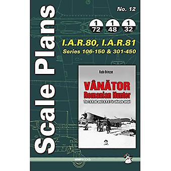 Scale Plans I.A.R. 80, I.A.R. 81: For Vanator Series 106-150 & 301-450