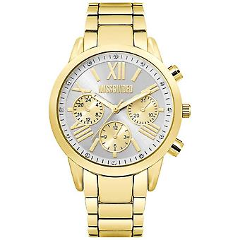 Missguided | Ladies Gold Chronograph | MG008GM Watch