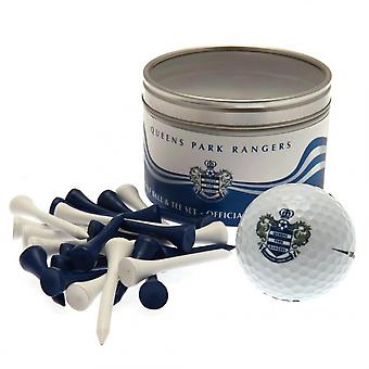 Queens Park Rangers FC Ball And Tee Set