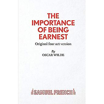 L'Importance d'être constant: Version en 4 actes (par intérim édition S.)